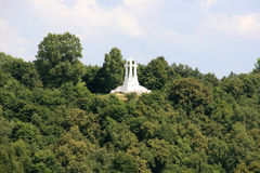 Hill of Three Crosses, Vilnius, Lithuania Stock Images