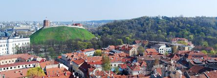 The Hill of Three Crosses in Vilnius Royalty Free Stock Image