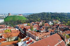 The Hill of Three Crosses in Vilnius Stock Photography