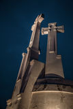 Hill of Three Crosses, Vilnius. Royalty Free Stock Images