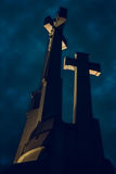 Hill of Three Crosses, Vilnius Stock Images