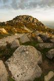 Hill top of Foia, Monchique. Landscape view of hill top of Foia in Monchique, Portugal stock image