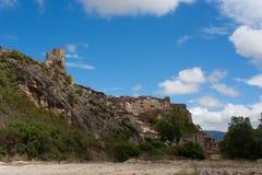 Hill town of Frías, Burgos, Castilla-Leon, Spain Royalty Free Stock Photography