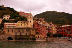 The Hill town of Vernaza,Italy Royalty Free Stock Photos