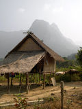 Hill Tribe Stilt House, Laos Royalty Free Stock Photos