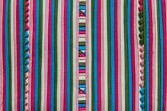Hill tribe textile fabric Stock Photography