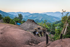 Hill tribe village. Stock Photos
