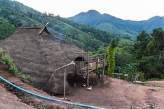 Hill tribe village. Royalty Free Stock Image