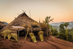 Hill tribe village. Stock Photography