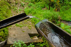 The Hill tribes Water supply system in Chiangmai,T Stock Images