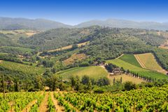 Hill Of Tuscany Stock Photography
