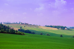 A hill in Tuscany Royalty Free Stock Image