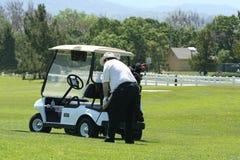 hill w golfa Fotografia Royalty Free