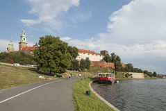 The hill of the wawel krakow poland europe Royalty Free Stock Image