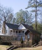 hill wiejskiego domu stary Zdjęcie Royalty Free