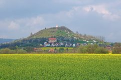 Hill Zebin, Czech republic Royalty Free Stock Photos