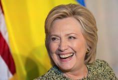 Hillary Clinton à l'Assemblée générale de l'ONU à New York Photos libres de droits