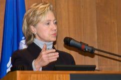 Hillary Clinton immagini stock libere da diritti