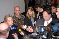 Hillary Clinton Royalty Free Stock Photos