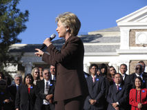 Hillary Clinton Photographie stock