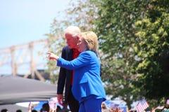 Hillary Clinton royalty-vrije stock foto