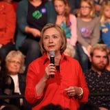 Hillary Clinton royalty-vrije stock afbeeldingen