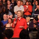 Hillary Clinton Imágenes de archivo libres de regalías