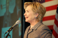Hillary Clinton Fotografia de Stock