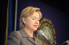 Hillary Clinton Lizenzfreies Stockbild
