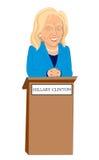 Hillary Clinton Fotografia Stock Libera da Diritti