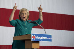 Hillary Clinton Photo libre de droits