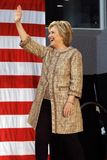 Hillary Clinton Campaigns for Presidency at SW College Los Angel Stock Photography