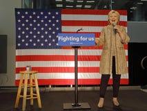 Hillary Clinton, de Presidentsverkiezing van 2016 Verenigde Staten, Calif Royalty-vrije Stock Foto's