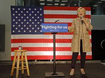 Hillary Clinton, 2016 eleição presidencial do Estados Unidos, Calif Fotos de Stock Royalty Free