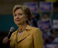 Hillary Clinton en Dallas Imágenes de archivo libres de regalías
