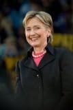 Hillary Clinton - het Glimlachen Verticaal Royalty-vrije Stock Foto's