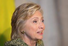 Hillary Clinton à l'Assemblée générale de l'ONU à New York Photographie stock libre de droits