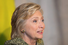 Hillary Clinton na assembleia geral do UN em New York Fotografia de Stock Royalty Free