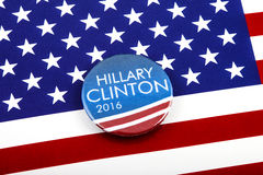 Hillary Clinton 2016 Presidential Campaign Stock Image