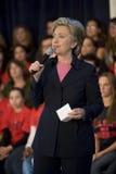 Hillary Clinton Rally Stock Photos