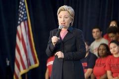 Hillary Clinton Rally Royalty Free Stock Photo