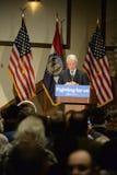 Hillary Clinton Rally in Bridgeton Stock Images