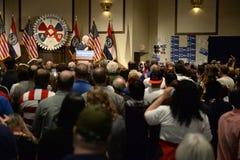Hillary Clinton Rally i Bridgeton Fotografering för Bildbyråer