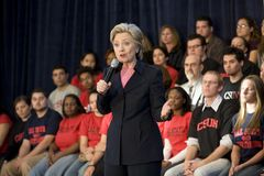 Hillary Clinton-Sammlung Stockbilder