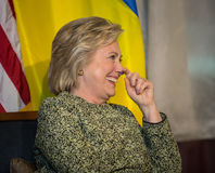 Hillary Clinton at UN General Assembly in New York Royalty Free Stock Photos