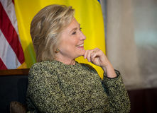 Hillary Clinton at UN General Assembly in New York Stock Photos