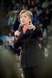 Hillary Clinton - Vertical Pointing Stock Photos