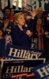 Hillary Rallies Imagens de Stock Royalty Free