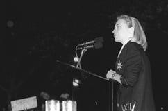 Hillary Rodham Clinton arkivbilder