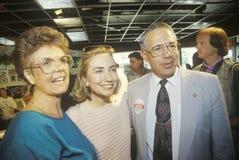 Hillary Rodham Clinton Stock Photo